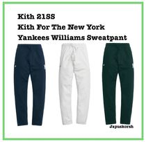 21 SS Kith For The New York Yankees Williams Sweatpant 3色