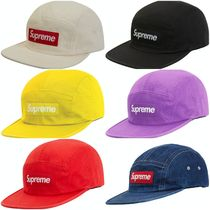[Supreme] Washed Chino Twill Camp Cap SS19 (送料関税込み)