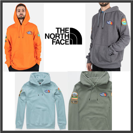 【The North Face】NOVELTY PATCH HOODIE/ロゴパッチ フーディー