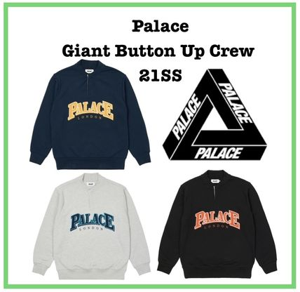 21 SS Palace Giant Button Up Crew 3色