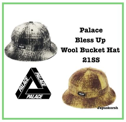 21 SS Palace Bless Up Wool Bucket Hat 2色