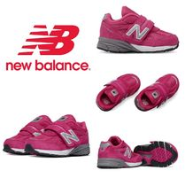 【New Balance】☆キッズ☆Kid's Infant 990v4 Hook and Loop