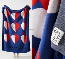 Hotel Magique X Anthropologie☆Art and Kisses Throw Blanket