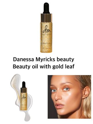 〈 DanessaMyricks〉★2021SS★Beauty oil with gold leaf