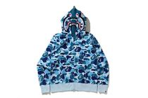 A BATHING APE(アベイシングエイプ) パーカー・フーディ 【A BATHING APE】CAMO SHARK FULL ZIP DOUBLE HOODIE 全3色