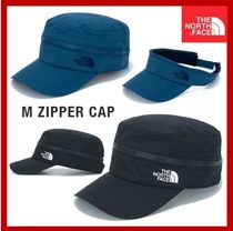 [THE NORTH FACE] M ZIPPER CAP ★2WAY★