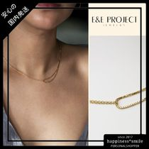 E&E project Jewelry/チェーンリンクUネックレス