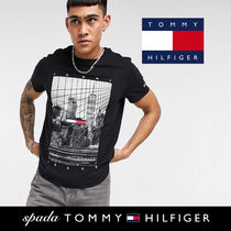 SALE【Tommy Jeans】NYCグラフィック Tシャツ ブラック/送料無料
