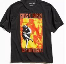 Urban Outfitters(アーバンアウトフィッターズ) Tシャツ・カットソー Guns N' Roses Use Your Illusion Tee バンドTシャツ