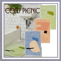【COLD PICNIC】 100% organic cotton バスマット/3color
