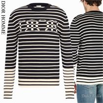 DIOR HOMME Striped sweater