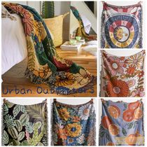 【Urban Outfitters】*Woven Blanket 花柄 ブランケット スロー*