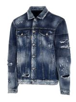 【DSQUARED2】JACKETS OVER DENIM JAXCKET / S71AN0282 BLUE
