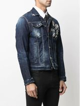 【DSQUARED2】JACKETS Dan Jacket With Pins / S74AM1139 BLUE