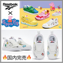 国内完売【PEPPA PIG X REEBOK】CLUB C SLIP ON IV 送関込