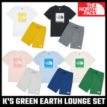 【THE NORTH FACE】 K'S GREEN EARTH LOUNGE SET 上下セット