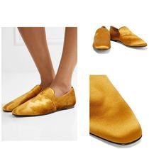 SALE♪THE ROW Alys satin loafers サテン生地ローファー