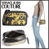 Versace Jeans Couture◆バロック プリント ショルダーバッグ