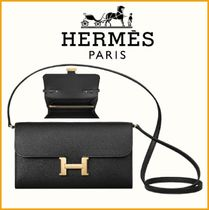 希少【大人気】HERMES◆Constance Long To Go Black◆財布
