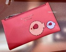【Kate Spade】puffy small slim bifold wallet