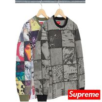 Supreme 21SS Mosaic Patchwork L/S Top