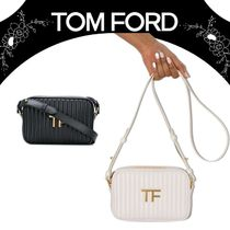 【TOM FORD】QUILTED LEATHER TF CAMERA BAG