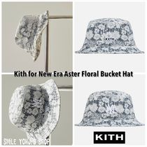 KITH NYC(キスニューヨークシティ) ハット ★2021SS★Kith for New Era Aster Floral Bucket Hat