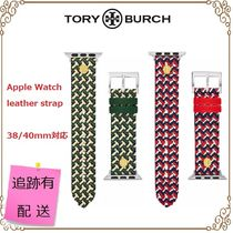 ★TORY BURCH★Apple Watch用レザーバンド〜38/40mm用〜