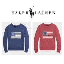 【NEW】RALPH LAUREN★Flag French Terry Pullover