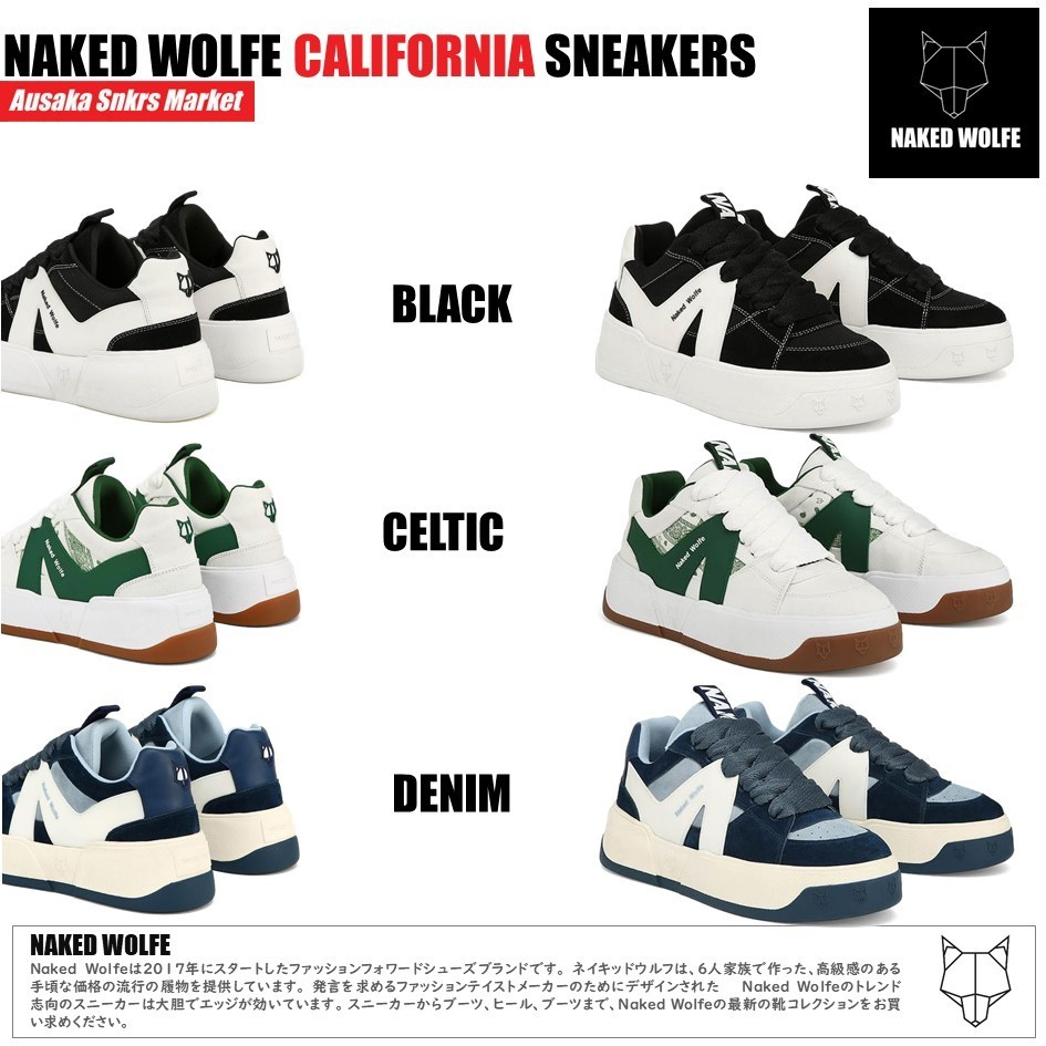 !★naked wolfe★ California  キャンバススニーカー (Naked Wolfe/スニーカー) 65590739