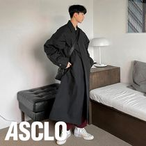 ASCLO String Wind Trench Coat (2color)