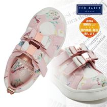 TED BAKER(テッドベーカー) キッズスニーカー 【TED BAKER】リボン/お花柄 ベビー&キッズ ピンク スニーカー