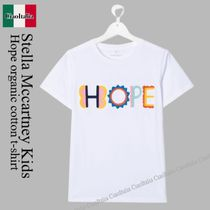 Stella Mccartney Kids Hope organic cotton t-shirt