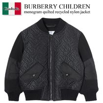Burberry Children monogram quilted recycled nylon jacket