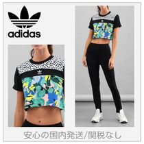 ジムやヨガに♪ADIDAS ORIGINALS CROPPED TEE Tシャツ