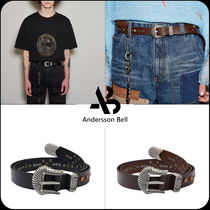ANDERSSON BELL(アンダースンベル) ベルト [ANDERSSON BELL]★SIENNO WESTERN LEATHER BELT