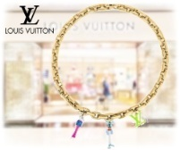 21SS ルイヴィトン コリエ・チェーン アニマルズ ロゴネックレス (Louis Vuitton/ネックレス・チョーカー) 65608473