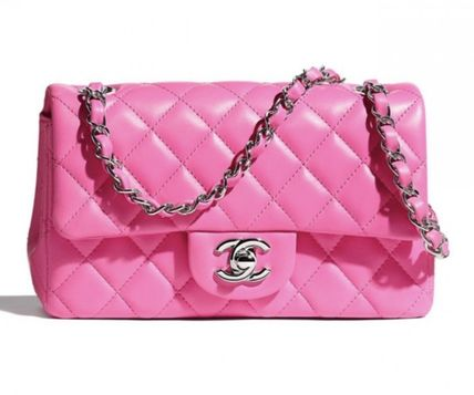 在庫要確認★2021S/S CHANEL 最新作★RECTANGLE MINI in PINK