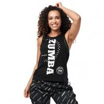 ★国内在庫★ ズンバ Zumba Team Talk Tank Bold Black