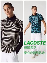 【LACOSTE】コラボ National Geographic Regular Fit ポロシャツ