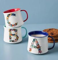 Anthropologie × Nathalie Lete Bouquet Monogram Mug 1個