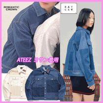☆ロマクラ☆STITCH DENIM JACKET/全2色/ROMANTIC CROWN☆