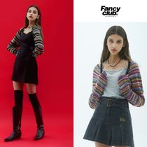 【NASTY FANCY CLUB】21ss FANCY MIX STRING BOLERO 追加送料X