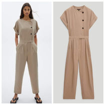 Massimo Dutti【NEW】Jumpsuit with side buttons