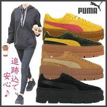 限定モデル◇PUMA◇Rihanna Cleated Creeper Suede*リアーナ着用