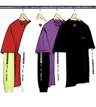 ◆WEEK2◆SUPREME21SS★Supreme Inc. Paneled L/S Top