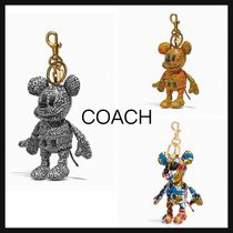 【COACH】直営/正規店 Disney Mickey Keith Haring コラボ Charm