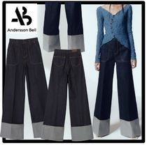 ★関税込★ANDERSSON BELL★MONA SELVEDGE TURN-UP TROUSER.S★
