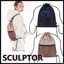 ★SCULPTOR★韓国人気★2021★Iridescent Drawstring Bag [2色]