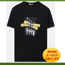 GIVENCHY★アドレス ロゴ プリント Tシャツ